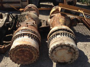 CAT R2900G Rear and Front Axles