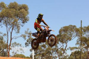 Mitch kerr preps for season of motocross in WA
