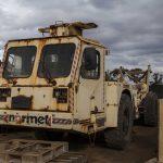 Normet AgiTruck for wrecking