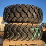 MICHELIN 20.5R25 AS-NEW TYRES